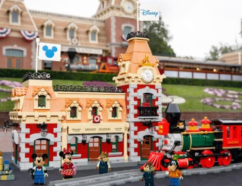 Bring Home the Magic Disney Parks with LEGO® Disney Train and Station Available on August 21