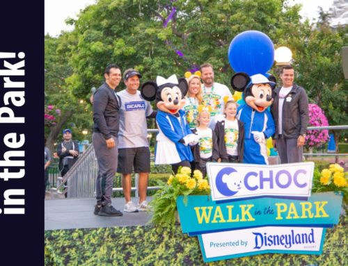 14,000 Walkers Join Boyle Family to Walk Through Disneyland Resort for the 2019 CHOC Walk in the Park!