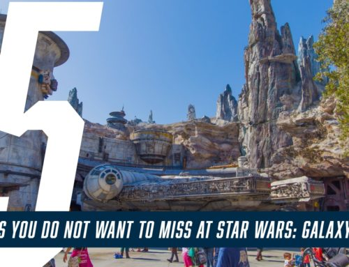 5 Things You Do Not Want to Miss at Star Wars: Galaxy's Edge