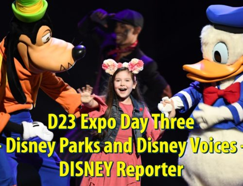 D23 Expo Day Three – Disney Parks and Disney Voices – DISNEY Reporter