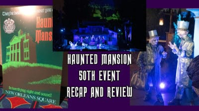 Disneyland's Haunted Mansion 50th Anniversary Event Recap and Review