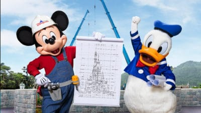 Castle Transformation Reaches New Stage with Tower Additions Representing Beloved Disney Princess Stories