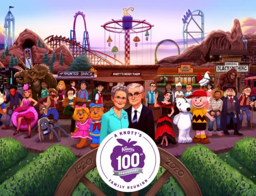 Knott's Berry Farm Celebrating 100 Years of Southern California Fun Next Summer