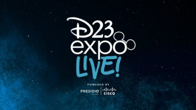 D23 Expo Live Coming to Guests Who Can't Make it Out to This Weekend's Event