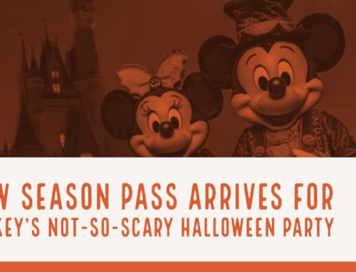 New Season Pass Arrives for Mickey's Not-So-Scary Halloween Party at the Magic Kingdom at the Walt Disney World Resort!
