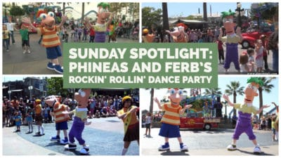 Sunday Spotlight: Phineas and Ferb's Rockin' Rollin' Dance Party