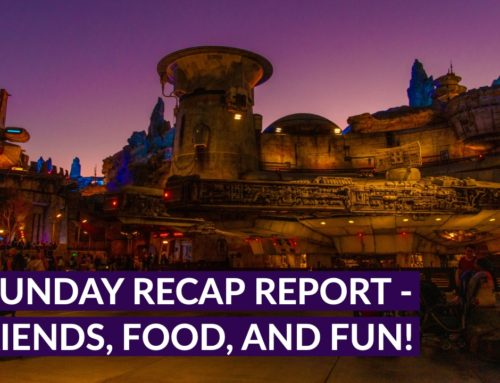Sunday Recap Report – Friends, Food, and Fun!