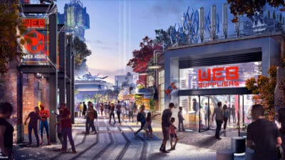 Details About Disneyland Resort's Avengers Campus Revealed at D23 Expo!