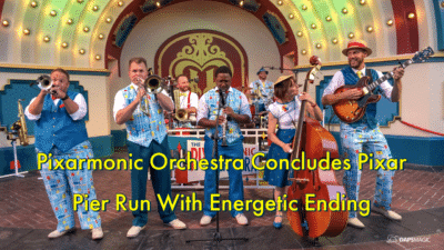 Pixarmonic Orchestra Concludes Pixar Pier Run With Energetic Ending