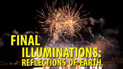 Fans Show Up To Say Goodbye to Epcot's Illuminations: Reflections of Earth