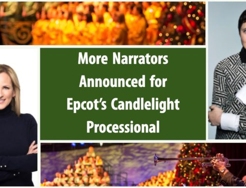 More Narrators Announced for Epcot's Candlelight Processional