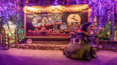 Some Hauntingly Fun Facts About Haul-O-Ween in Cars Land at Disney California Adventure