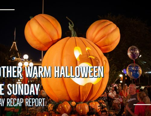 Sunday Recap Report – Another Warm Halloween Time Sunday