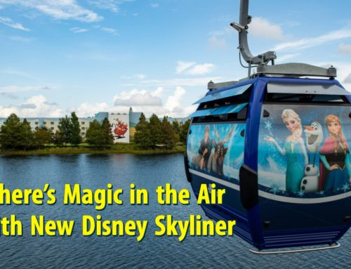 There's Magic in the Air with New Disney Skyliner