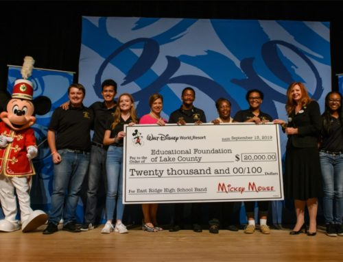 Lake County's East Ridge High School Recipient of $20,000 Gift from Walt Disney World Resort