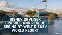 Disney Skyliner Crashes
