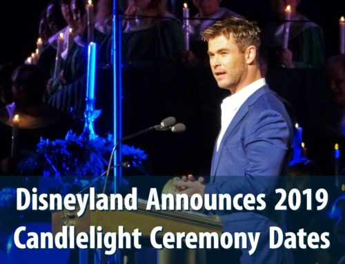 Dates Announced for Disneyland's 2019 Candlelight Ceremony