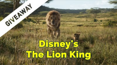GIVEAWAY: Disney's The Lion King Blu-ray Combo Pack