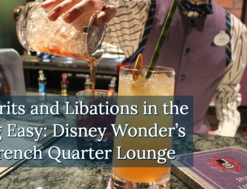 Spirits and Libations in the Big Easy: Disney Wonder's French Quarter Lounge