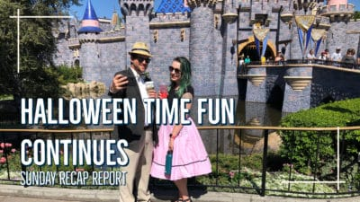 Sunday Recap Report – Halloween Time Fun Continues
